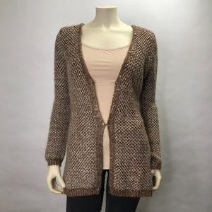 Oona & Maud Anthropologie Tunic Cardigan Sweater